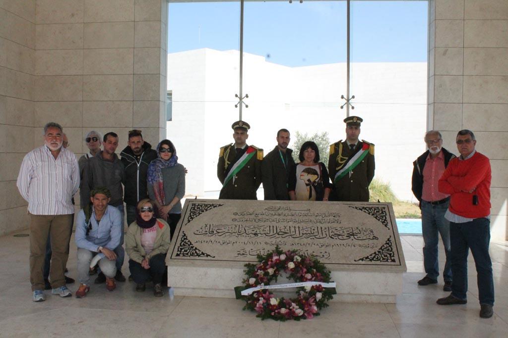 Yasser Arafat Tomb